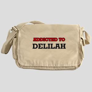 Addicted to Delilah Messenger Bag