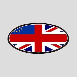 UK-EU flag Patch