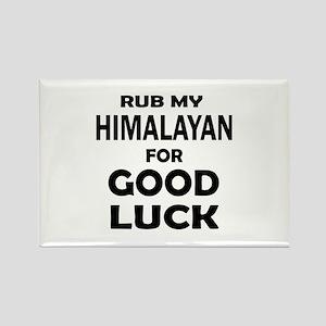 Rub my Himalayan for good luck Rectangle Magnet