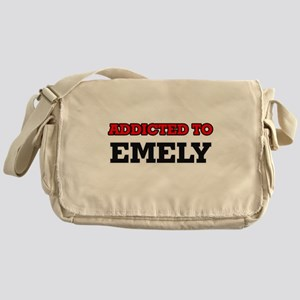 Addicted to Emely Messenger Bag