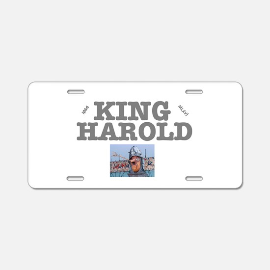 KING HAROLD - HASTINGS -106 Aluminum License Plate