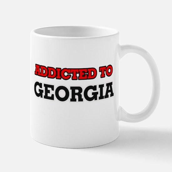 Addicted to Georgia Mugs