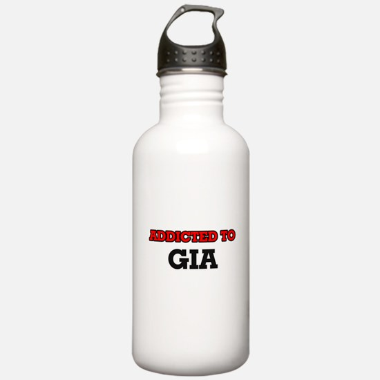 Addicted to Gia Water Bottle