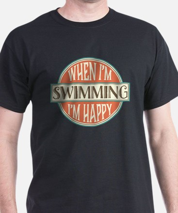 happy swimmer T-Shirt