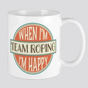 happy team roper Mug