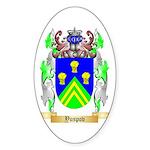 Yuspov Sticker (Oval)