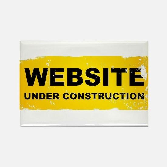 Website Under Construction Magnets