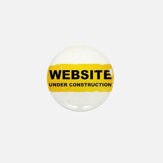 Website Under Construction Mini Button