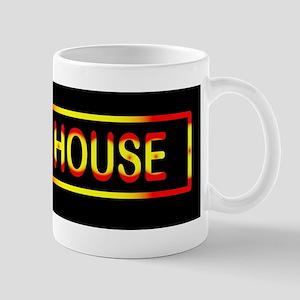 Whore House Sign Mugs