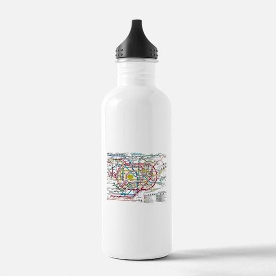 SUBWAY - METRO MAPS - Water Bottle