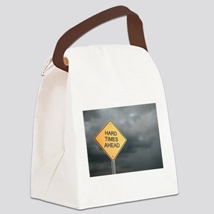 Hard Time Ahead Canvas Lunch Bag
