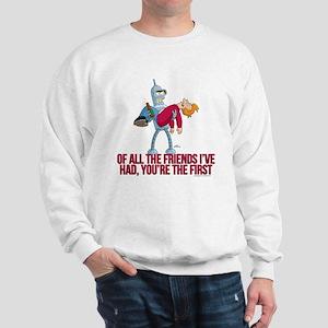Futurama All the Friends Sweatshirt