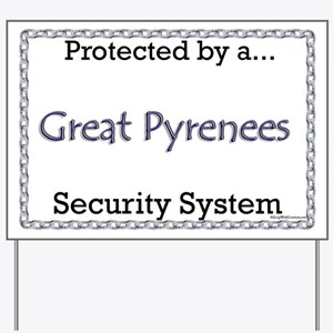 Pyr Security Yard Sign