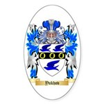 Yukhov Sticker (Oval 10 pk)