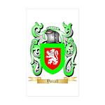 Yoxall Sticker (Rectangle 50 pk)