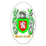 Yoxall Sticker (Oval 50 pk)