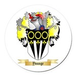 Younge Round Car Magnet