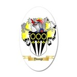 Younge 20x12 Oval Wall Decal