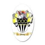 Young 20x12 Oval Wall Decal