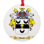 Youle Round Ornament