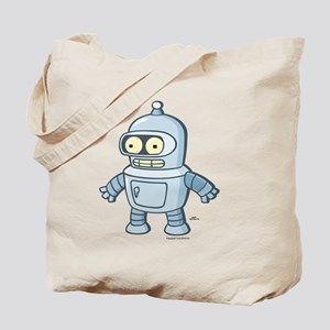Futurama Baby Bender Light Tote Bag