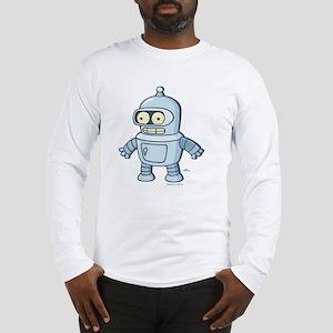 Futurama Baby Bender Light Long Sleeve T-Shirt