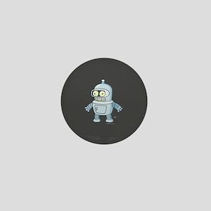 Futurama Baby Bender Full Bleed Mini Button