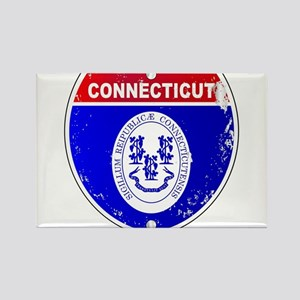 Connecticut Interstate Sign Magnets
