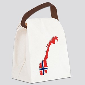 Norway Flag Canvas Lunch Bag