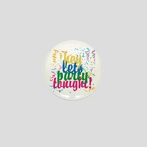Confetti Personalize All Words Mini Button