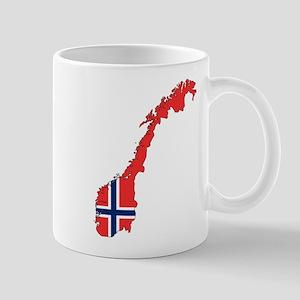 Norway Flag Mugs