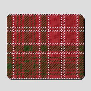 Red Kilt Tartan Mousepad