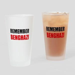 Remember Benghazi Drinking Glass