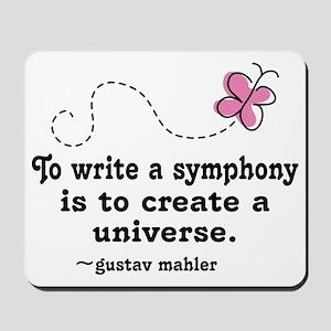Mahler Symphony Mousepad