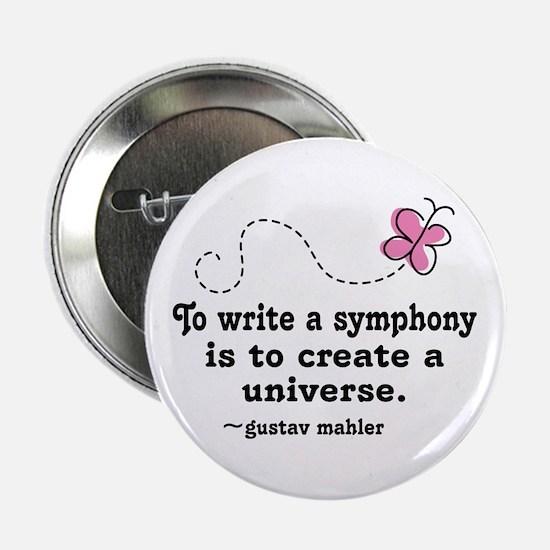 "Mahler Symphony 2.25"" Button"