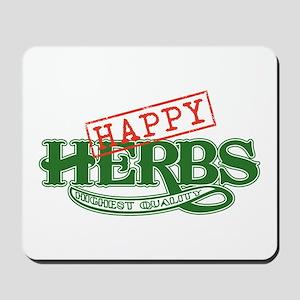 Happy Herbs Mousepad