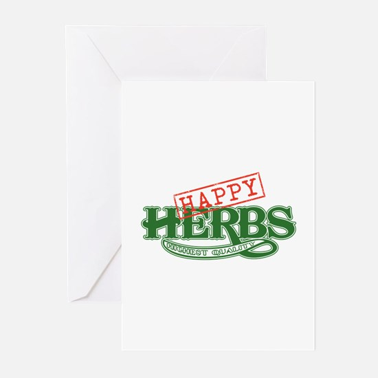 Happy Herbs Greeting Cards