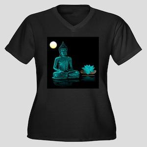 Buddha Meditation Style Plus Size T-Shirt