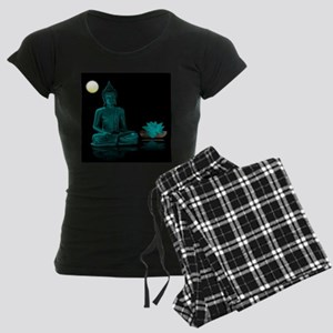 Buddha Meditation Style Women's Dark Pajamas