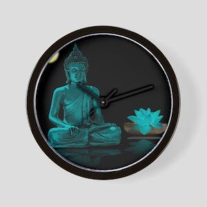Buddha Meditation Style Wall Clock