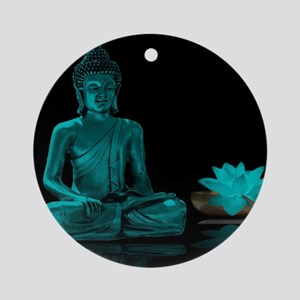 Buddha Meditation Style Round Ornament