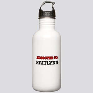 Addicted to Kaitlynn Stainless Water Bottle 1.0L