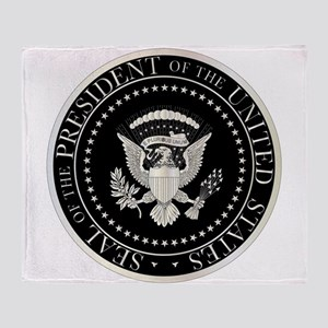 Presedent Seal Throw Blanket