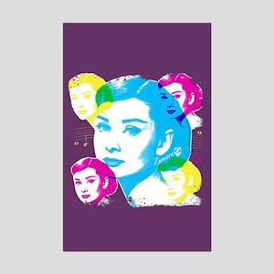 Audrey Hepburn Color Collage Mini Poster Print
