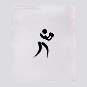 Team Boxing Throw Blanket