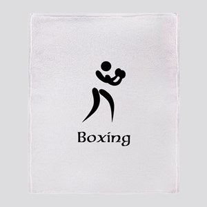 Team Boxing Title Throw Blanket