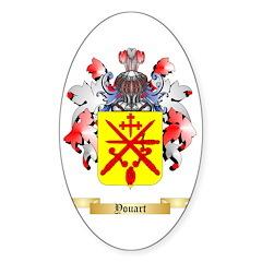 Youart Sticker (Oval 10 pk)