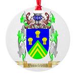 Yosselevitch Round Ornament