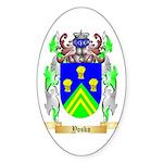 Yosko Sticker (Oval 10 pk)