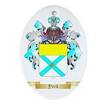 York Oval Ornament